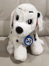 Mattel 101 Dalmatians ROLLY Plush 1991 Blue Collar Vintage Stuffed Dog Puppy