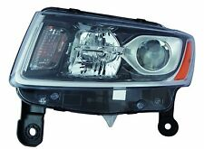 FITS JEEP GRAND CHEROKEE 2014 LEFT DRIVER HEAD LIGHT HEADLIGHT FRONT LAMP