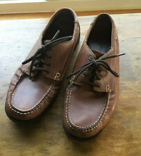 Eastland Men's 11 D Falmouth Camp Moccasin Boat Loafer Shoes Leather Upper