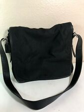 COACH Large Messenger Portfolio Crossbody Shoulder 5109 Bag Leather Canvas Purse