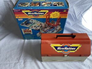 Micro Machines, Galoob, Tool Box City Playset, 99% Complete With Box