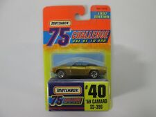 Matchbox 75 Challenge 1997 Edition '69 Camaro SS-396 #40