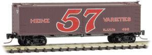 Micro-Trains MTL Z-Scale Heinz Series Car #4 - 40ft Wood Reefer 57 Varieties