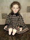 My+Twinn+23%22+Poseable+Doll+Checkered+Country+Dress+1997+white+cloth+body.+