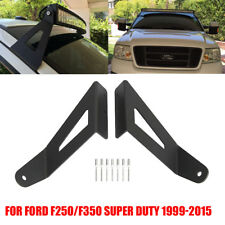 """54"""" Curved LED Light Bar Mount Bracket For 1999-2015 Ford F250/F350 Super Duty"""