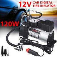 12V 150PSI Cylinder Air Pump Compressor Heavy Duty Car Auto Tire Inflator DC  -