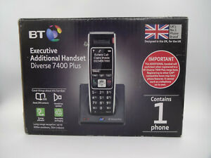 BT Diverse 7400 Plus - Executive Additional Handset and Charger - Grade A Boxed