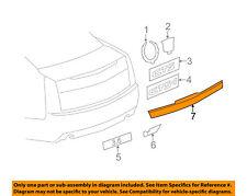 Cadillac GM OEM 11-15 CTS Trunk Lid-Molding Trim 22814001