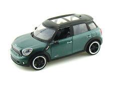 1:24 Mondo Verde Mini Cooper S COUNTRYMAN Metal Coche Nuevo y en caja