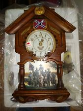 New ListingBradford Exchange Hour Of Glory Cuckoo Clock - Confederate General Robert E. Lee