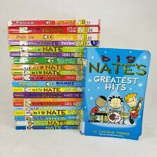 Huge Big Nate Book Lot Paperback Set of 21, Graphic Novels, Ex Library Comics