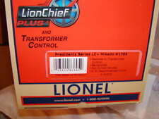 Lionel 6-83605 Presidents LionChief Mikado #1789 Locomotive & Tender O-31 MIB