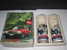 DATSUN - Nissan Mr30 Hr30 R30 C210 collectable glass cups - jdm change colour -