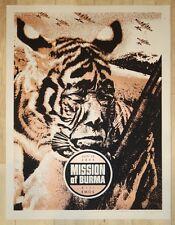 2005 Mission of Burma - Austin Silkscreen Concert Poster s/n by Rob Jones