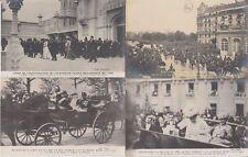 Great Britain Royalty Visits 1903, 1908 King Eduard Paris 69 Vintage Postcards