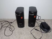 Vintage Sony SRS-57 Speakers with power cord for walkmans