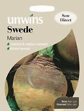 Unwins Pictorial Packet - Vegetable - Swede Marian - 600 Seeds