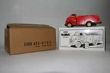 1/34 SCALE FIRST GEAR DIECAST 1952 GMC FUEL TANKER, SHELL OIL COMPANY