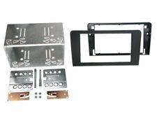 2-DIN Radioblende für Audi A3 8P 8PA Einbaurahmen Radiohalterung Doppel-DIN Set