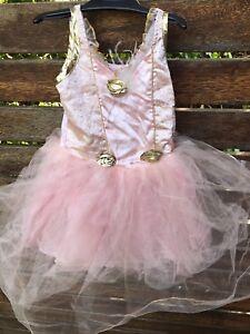 Girls Kids Children Princess Pink Party Birthday tutu Gorgeous Costume Dress 3-4