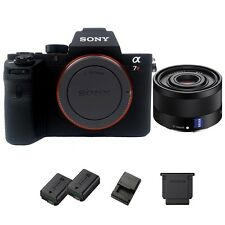 Sony a7R II / A7R2 42MP Full-Frame Mirrorless DSLR Body + 35mm f/2.8 ZA Lens