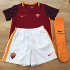 Nike AS Roma 2015-16 Kid's Football Home KIT Size 5-6 Years, Dark Red / Maroon