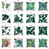 Garden Leaf Cushion Pillow Case Covers Outdoor Floral Home Decoration