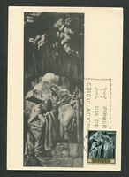 SPAIN MK 1966 GEMÄLDE SERT ST. PETER PAUL MAXIMUMKARTE MAXIMUM CARD MC CM d8175