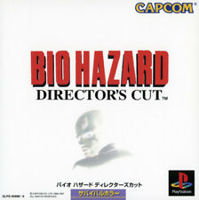 Used PS ONE BIOHAZARD DIRECTOR ' CUT CAPCOM PS 1 SONY PLAYSTATION JAPAN IMPORT