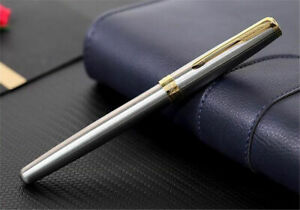 Excellent Stainless Steel Parker Pen Sonnet Series 0.5mm Medium Nib Fountain Pen