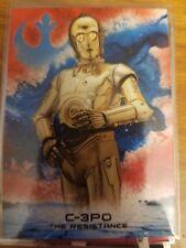 2018 Topps Star Wars The Last Jedi Series 2 C-3PO The Resistance 40/99