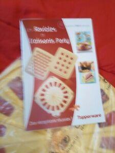 Tupperware croissants party & livret neuf