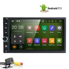 7'' Android 7.1 Double 2DIN Car Radio Stereo GPS Navi with Map 4G WIFI BT+Camera