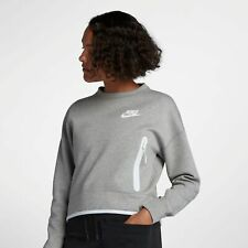 Nike S Regular Size Solid Sweats & Hoodies for Women for