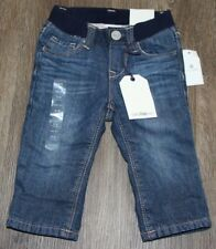 Baby Gap *NWT* Girls My First Straight Fleece Lined Pull On Jeans! 3-6 Mo $34.95