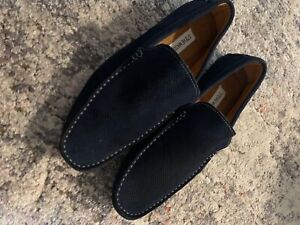 steve madden loafers men size 9,5 new shoes leather upper textile lining