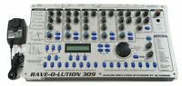 USED Quasimidi Rave-O-Lution 309 Synthesizer Drum Machine Sequencer w/ Adapter