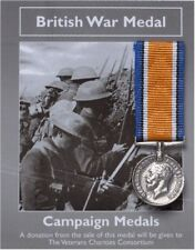 British War Medal -  Campaign Medal  - Miniature Reproduction