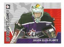 2004-05 ITG HEROES PROSPECTS TOP PROSPECTS GAME # TPG-O8 JULIEN ELLIS PLANTE !!