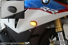 10-17 BMW S1000RR HP4 Front Flush Mount LED Turn Signal Lights + Resistors