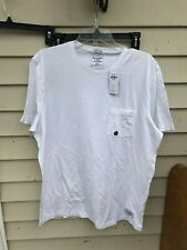 Abercrombie & Fitch Mens Short Sleeve Shirt T-Shirt WHITE SIZE XL