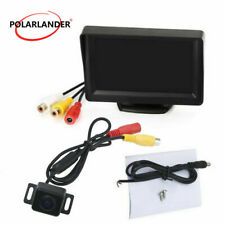 "170 Anti-Fog Rearview Camera Car Reverse Monitor 4.3""TFT LCD Screen Night Vision"