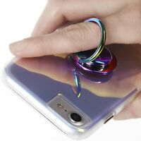 Case-Mate - Phone - RINGS - Holder - Grip Stand - Universal - Solid Iridescent