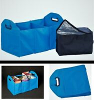 Collapsible Trunk Cargo Organizer with Cooler