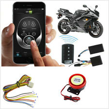 Motorbike ATV GSM GPS Tracker Engine Start Keyless Entry System Remote Antitheft