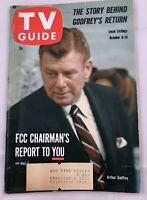 1960 TV Guide October 8  Roger Moore Mavericks Cousin Leave it to Beaver Vintage