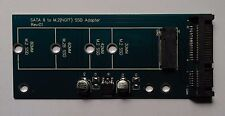 NGFF M.2 B Key zu SATA III Adapter Karte   für SSD   Neu