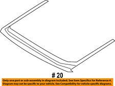 FORD OEM 15-18 Edge-Sunroof Wind Deflector FT4Z58500A26B