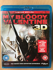 Jaime King MY BLOODY VALENTINE 3D ~ 2009 Horror Slasher Remake UK Blu-ray