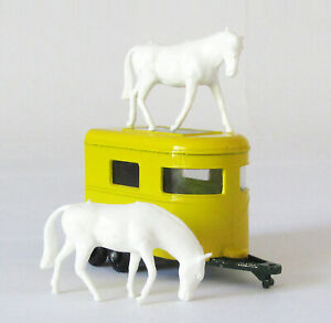 Vintage Lesney Matchbox #43 Pony Trailer Regular Wheels XLNT 1968